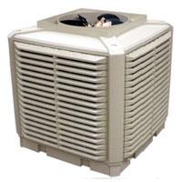 30000 ducted industrial evaporative air cooler -cooling UAE