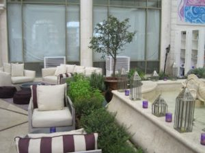 terrace cooling with outdoor coolers